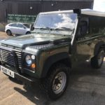 land rover defender 4x4 diesel front-side