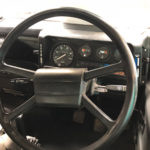 land rover defender 4x4 diesel Steering wheel and dashboard